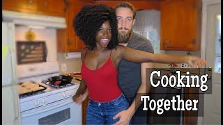 COOKING VLOG: The couple that cooks together stays together