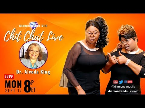 Xxx Mp4 Diamond And Silk Chit Chat Live Guest Dr Alveda King 3gp Sex