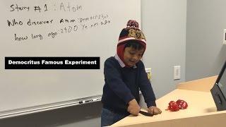 Democritus Famous Atom Experiment