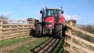 Muck-Spreading with Massey 6616.