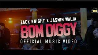 Zack+Knight+x+Jasmin+Walia+-+Bom+Diggy+%28Official+Video+By+V4H+Musics%29
