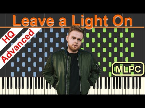 Tom Walker - Leave a Light On I Piano Tutorial & Sheets by MLPC