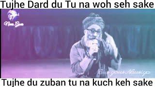 #NausgousNausiya #HeartTouching|#Yousuf Bashir Qureshi|#Touching Poetry/Shairy|#Whatsapp Status Vide