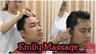 Relaxing Oil Head and Back Massage by Emily - Read Description