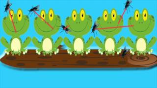 5 Little Freckled Frogs