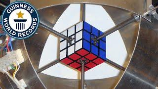 Fastest robot to solve a Rubik