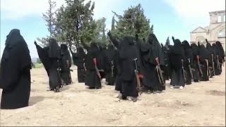 Islamic State using women jihadists to shame men into action