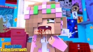 BABY LITTLE KELLY HAS AN ACCIDENT!!! - Minecraft Little Club Adventures