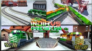 Indian Vs Pak Train Racing Games Free #Train Driving Simulator Free Games #Games Download