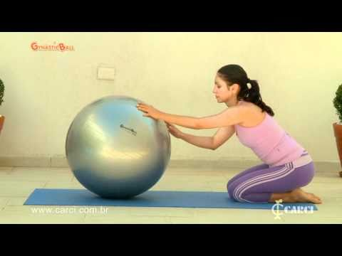 Exercícios com Bola Pilates Gynastic Ball Carci