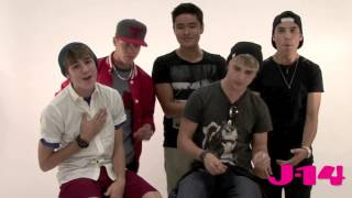 "IM5 Covers ""The Way You Make Me Feel"" by Michael Jackson -- J-14 Video"