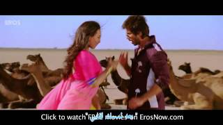 Saree Ke Fall Sa اغنية هندية رائعة مترجمة شاهيد كابور وسوناكشي سنها
