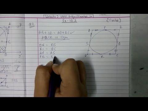 Xxx Mp4 Chapter 10 Exercise 10 2 Q10 Q11 CIRCLES NCERT Maths Class 10 3gp Sex