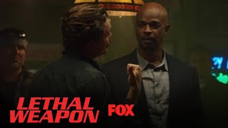 Riggs Gets A Drink Thrown At Him | Season 2 Ep. 13 | LETHAL WEAPON