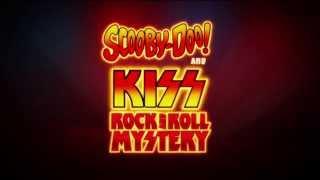 scooby doo y KISS en el misterio del Rock and Roll