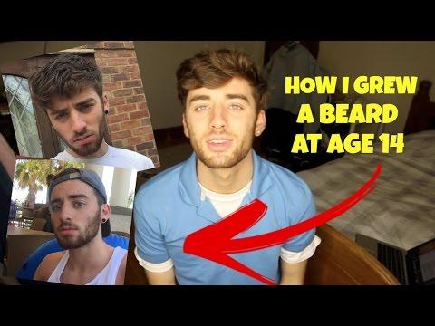 How I Grew A Beard At Age 14!
