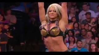 Angelina Love Custom Titantron Face TNA 2010
