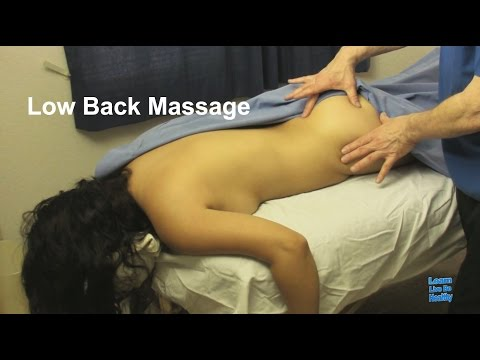 Low Back Medical Massage class 0001 Learn Live Be Healthy