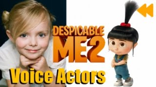 """Despicable Me 2"" Voice Actors and Characters"
