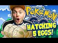 Download Video HATCHING 5 EGGS + MEETING THE ENEMY! - Pokemon Go Gameplay! [2] 3GP MP4 FLV