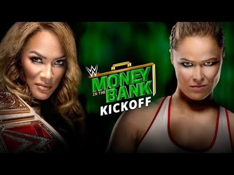 Xxx Mp4 WWE Money In The Bank Kickoff June 17 2018 3gp Sex