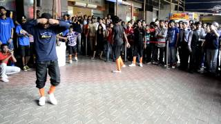 B-Boys from India's Got Talent performing at charity event of Light of Life Trust