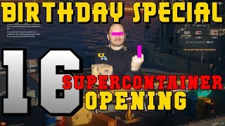 16 Supercontainer - Opening SC - World of Warships