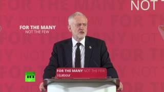 Jeremy Corbyn: 'The war on terror is not working'