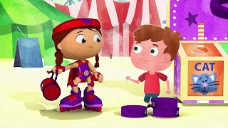 Super Why 308 | The Rhyming Carnival | Cartoons for Kids
