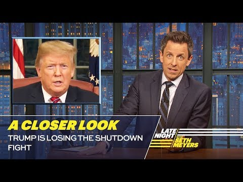 Trump Is Losing the Shutdown Fight A Closer Look