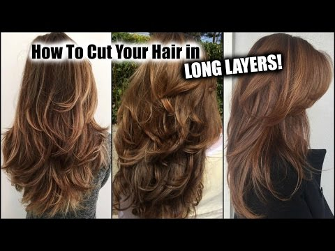 Xxx Mp4 HOW I CUT MY HAIR AT HOME IN LONG LAYERS │ Long Layered Haircut DIY At Home │Updated 3gp Sex