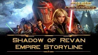 SWTOR: Shadow of Revan - Empire storyline cutscenes (incl. Lana Beniko Romance) - Part 1
