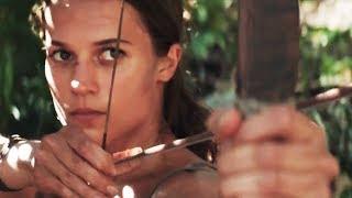 Tomb Raider Trailer 2017 Alicia Vikander as Lara Croft 2018 Movie - Official