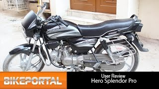 Hero Splendor Pro User Review - 'Best mileage' - Bikeportal