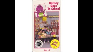 Barney Goes to School (1991-1992 VHS) full in HD