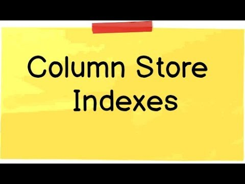 Columnstore index in sql server (tutorial)
