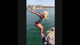 Cliff Jumping Fails compilation part 9