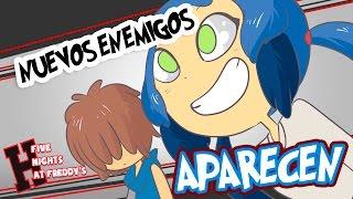 NUEVOS ENEMIGOS #15| SERIE ANIMADA | FIVE NIGHTS AT FREDDY'S HIGH SCHOOL