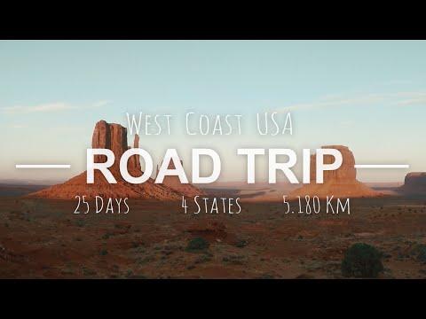 USA West Coast Road Trip 2016 GoPro 4 HD