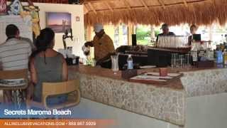 Inside the Secrets Maroma Beach Resort in Riviera Maya, Mexico — All Inclusive Vacation