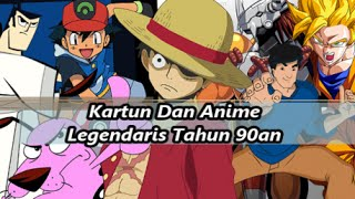 26 Film Kartun Dan Anime Legendaris Tahun 90an
