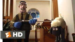 Shaun the Sheep Movie (5/10) Movie CLIP - Lunch Fiasco (2015) HD