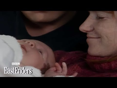 Bianca has a baby in the Queen Vic EastEnders BBC