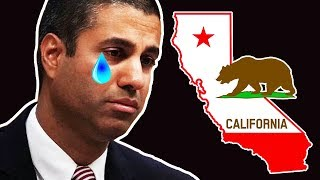 California Just Made Ajit Pai Very Sad