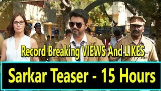 Sarkar Teaser Creates History With Record Breaking Views And Likes In 15 Hours