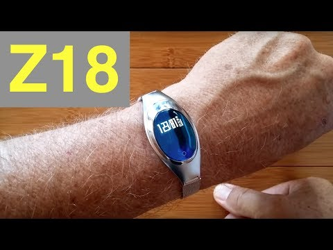 MISSYOU Z18 Ladies Blood Pressure Smartband: Unboxing and Review