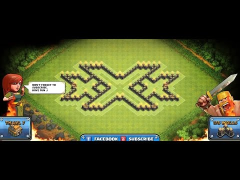 Xxx Mp4 Town Hall 7 XXX Base TH7 FARMING BASE WITH 3x AIR DEFENSES NEW 3gp Sex