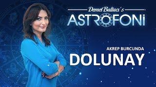Akrep Burcunda DOLUNAY.  Astrolog Demet Baltacı