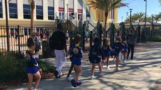UCA Cheer 2018 with Isabella and Louella - Broward Elite Wonder Katz
