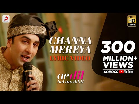 Xxx Mp4 Channa Mereya Lyric Video Ae Dil Hai Mushkil Karan Johar Ranbir Anushka Pritam Arijit 3gp Sex